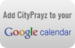 CityPrayz Google Calendar